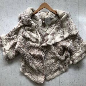 ***NWOT*** Anthropologie wrap sweater. Size XS/S